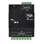 This module adds 11 monitoring inputs ON/OFF, to monitor more elements in the street lighting cabinet. Compact, it is equivalent to 4 modules and it can be easily installed on DIN Rail of the street lighting cabinet. Easy connection with the control unit.2